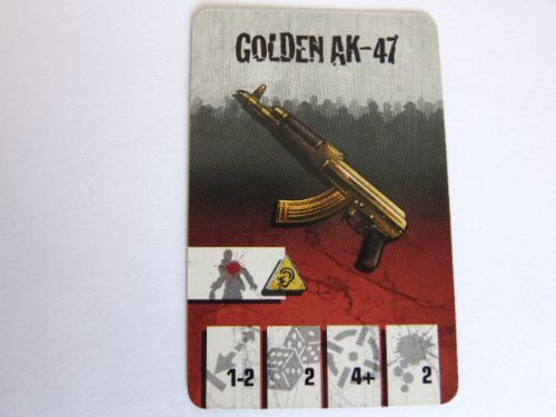 survivor equipment card (golden AK-47)